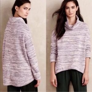 Anthro Saturday Sunday Spacedyed Cowl Neck Tunic S